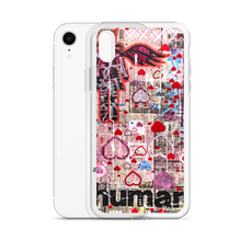 Load image into Gallery viewer, AEQEA Heartdrop Liquid Glitter iPhone Case