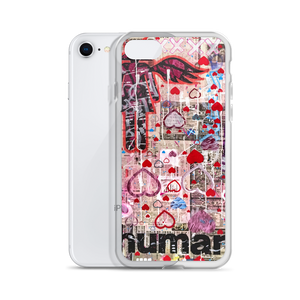 AEQEA Heartdrop Liquid Glitter iPhone Case