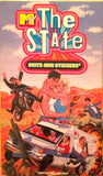 MTV The State VHS Skits And Stickers rare retro sketch comedy video *stickers not included
