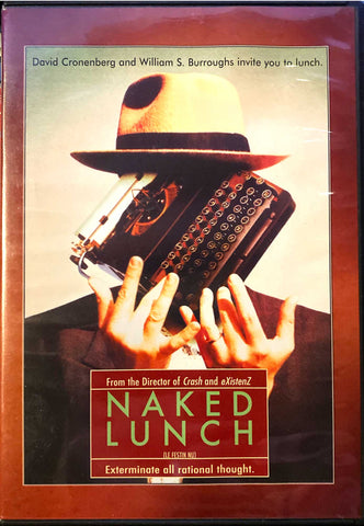 Naked Lunch DVD (longer version than Criterion release)