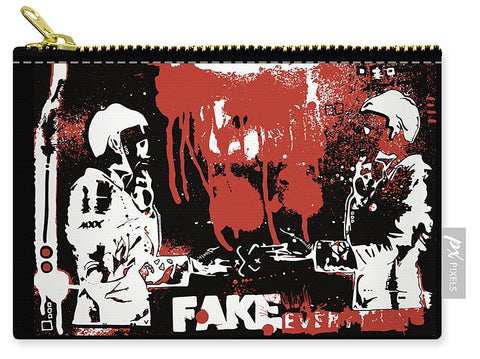 AEQEA Ok Deal, Fake Everything. - Carry-All Pouch