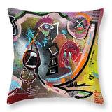 Partial Answers - Throw Pillow