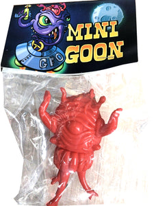 Paul Kaiju Mini Moon Goon Sofubi Red Blank Unpainted Soft Vinyl Toy