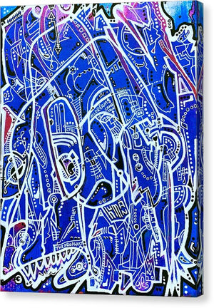 Aeqea Prophecy - Abstract Expressionism Street Art Canvas Print