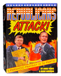 Republicans Attack! Paranoid Fantasies in 36 Subversive Trading Card Set Kitchen Sink Press