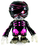 Secret Base Damage Brain Black Mummy Neon Pink Sofubi Soft Vinyl Designer Art Toy Figure