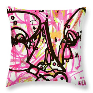 Aeqea Selfish - Throw Pillow