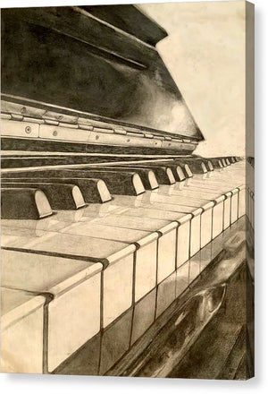Shmem Pianist - Canvas Print