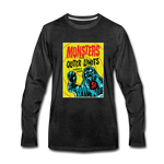 Outer Limits Monsters Long Sleeve T-Shirt - charcoal gray