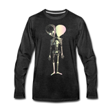 Polycephal Pals Premium Long Sleeve T-Shirt - charcoal gray