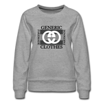 Generic Clothes Sweatshirt Women Type - heather gray