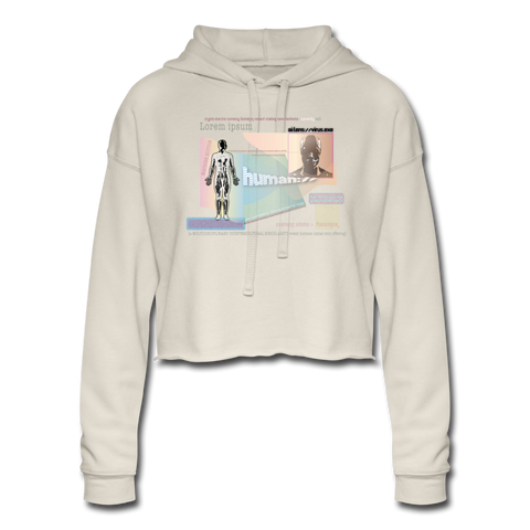 Biocoin Token Women's Cropped Hoodie - dust