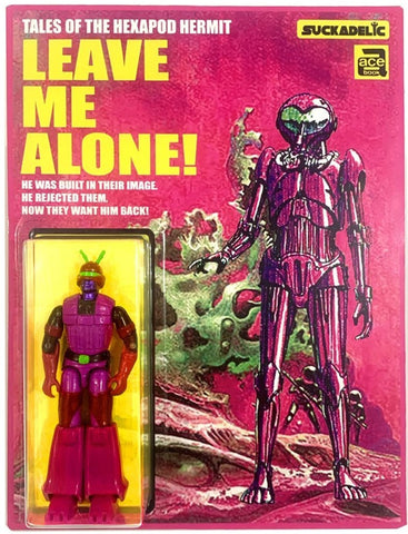 SUCKADELIC's LEAVE ME ALONE Custom Bootleg Repurposed Action Figure by Sucklord