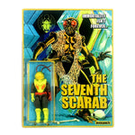 Suckadelic The 7th Scarab Custom Carded Repurposed Action Figure by Suck Lord