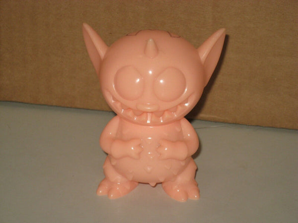Power Mister GID Sofubi Monster Family Art Toy Signed w/ Doodle by David Horvath