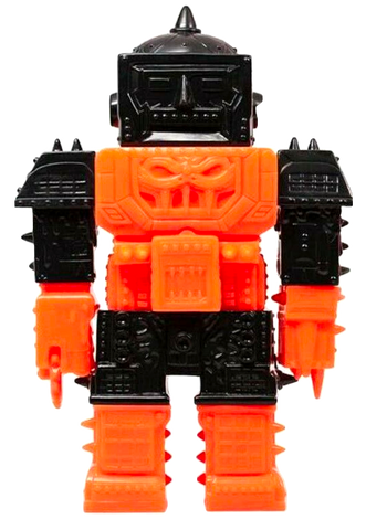 The Tower Sofubi Violence Toy Vinyl Figure Orange Black Blank Unpainted Mixed Parts