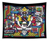 Homeless Cop Commission Vape Life Vapes Nation Tapestry