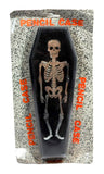 Skeleton Coffin Pencil Case Box Vintage Stationary 80's Retro Taiwan