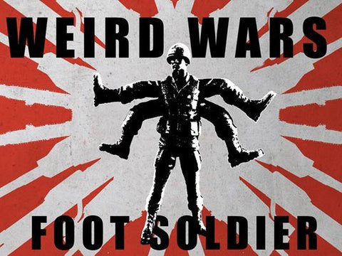 Weird Wars Beta Patrol Foot Soldier Bootleg Knock Off Resin Art Toty