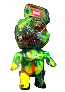 Wuhan SICK Custom tV HeAd Soft Vinyl Figure AEQEA Edit x Binbizii Phobia Toys