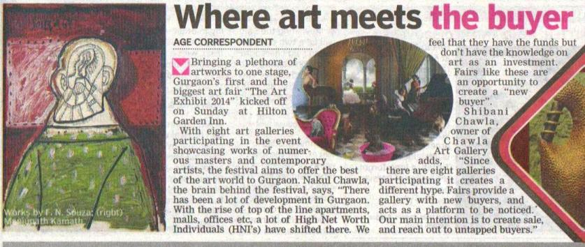 Art Exhibit 2014, Gurgaon