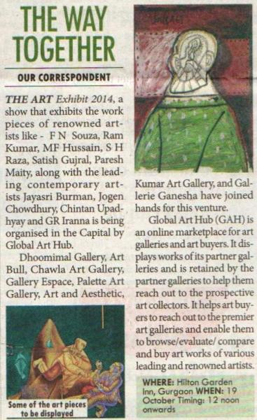 The Art Exhibit 2014 16 Oct 2014 HT City