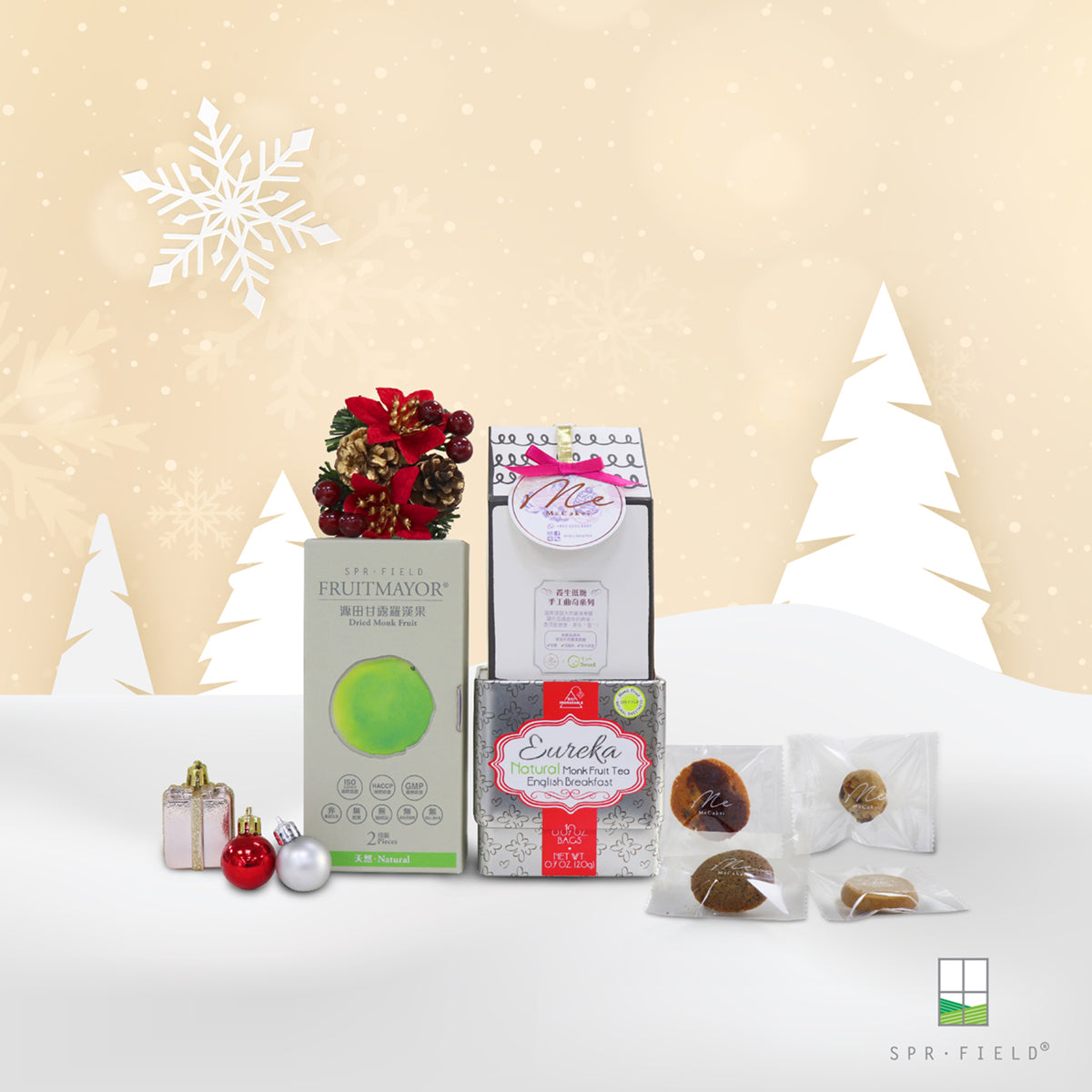 SPR.FIELD Christmas Gift Set 2019 - Holiday