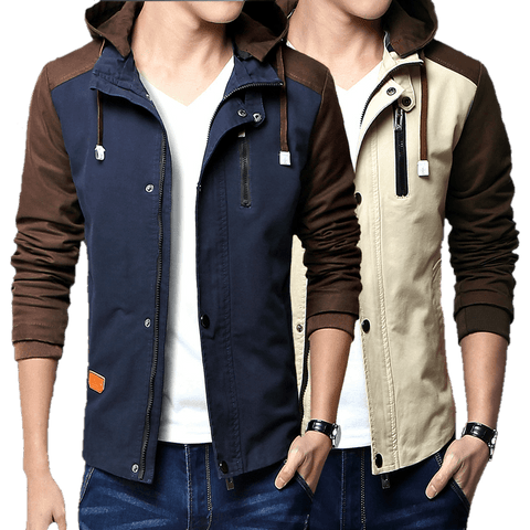 Overcoat Hood Jacket for Men-TheGymnist