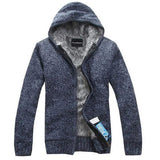 Thick Multicolored Inside Fur Autumn & Winter Warm Jackets Hoodie For Men-TheGymnist