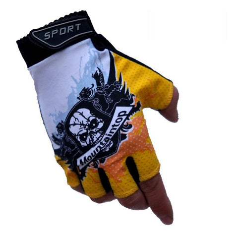 Unisex Sports Fitness Malfunction Half Finger Gym Gloves-TheGymnist