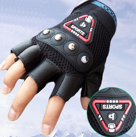 Military tactical Sports Fitness Half Finger Gym Gloves-TheGymnist
