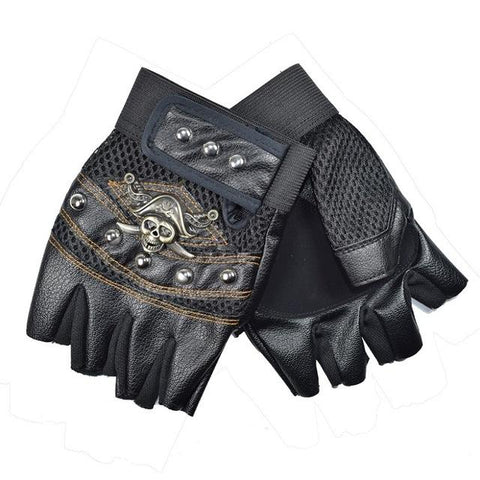 Multifunction Half Finger Sports Traning Gloves-TheGymnist