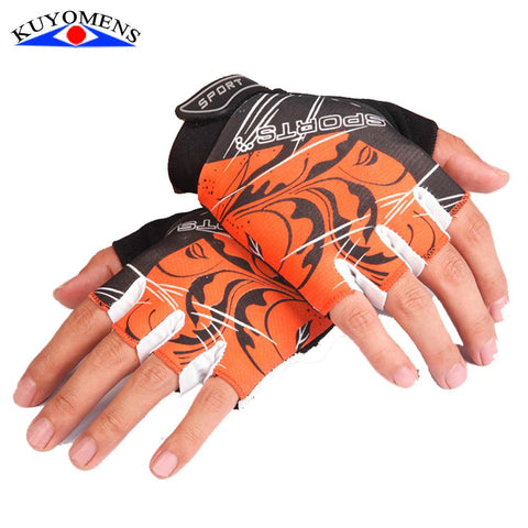 Men Sports Fitness Malfunction Half Finger Gym Gloves-TheGymnist