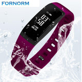FORNORM Bluetooth BP Smart Watch for Android & IOS v4.0-TheGymnist