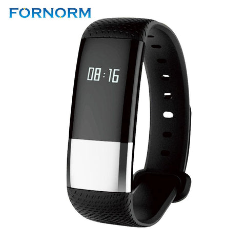FORNORM M4 Smart Bracelet and Dynamic Heart Rate, BP Tracker-TheGymnist