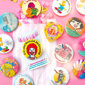 Mystery Vintage Badge Pack