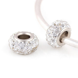 Rhinestone Beads for Pandora Charms Bracelet