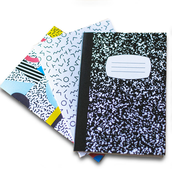 Notebooks (Pack of 3)