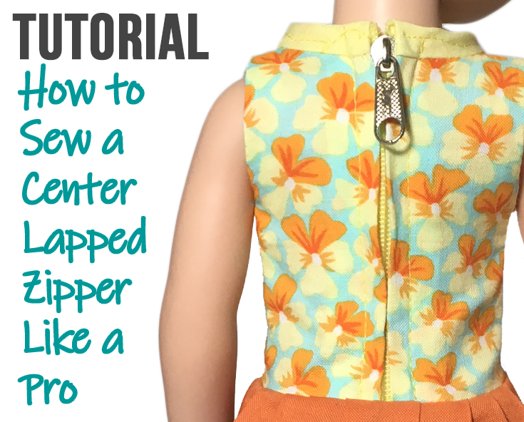 How to Sew a Center Lapped Zipper Like a Pro