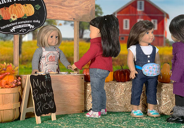 pumpkin patch 18 inch doll patterns collection