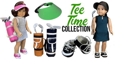 tee time golf collection 18 inch doll sewing patterns
