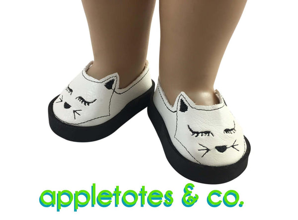 "Kittynap Flats ITH Embroidery Patterns for 18"" Dolls"