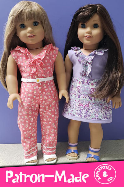 Sloane Street Sewing Pattern for 18 Inch Dolls