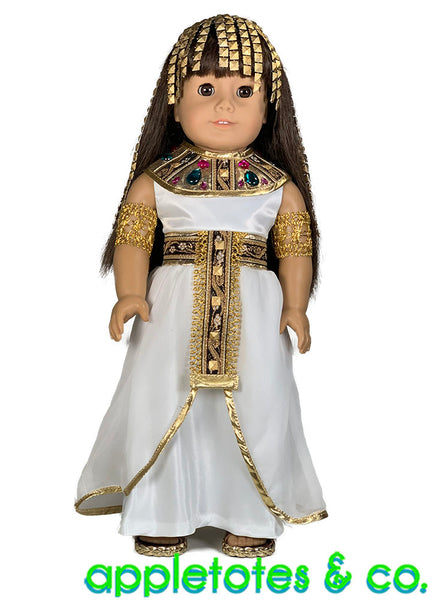 Cleopatra Costume 18 Inch Doll Pattern