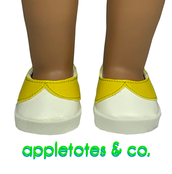 "Oopsie Daisy Shoes ITH Embroidery Patterns for 18"" Dolls"