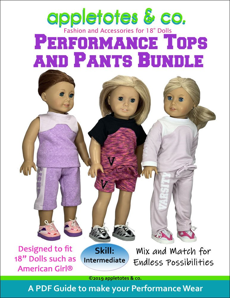 Performance Wear Bundle Sewing Pattern for 18