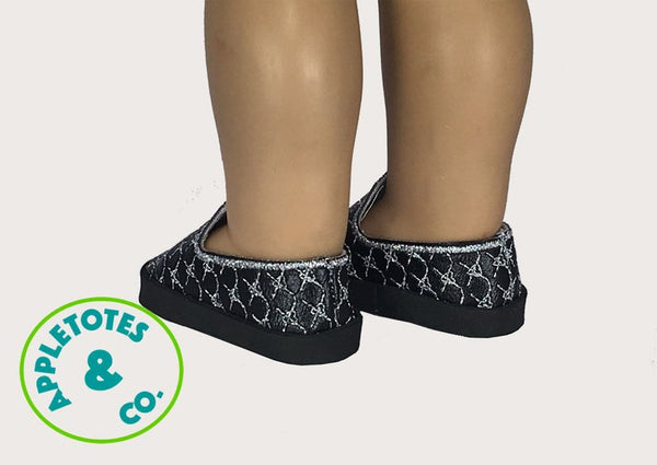 "Signature Loafers ITH Embroidery Pattern for 18"" Dolls"