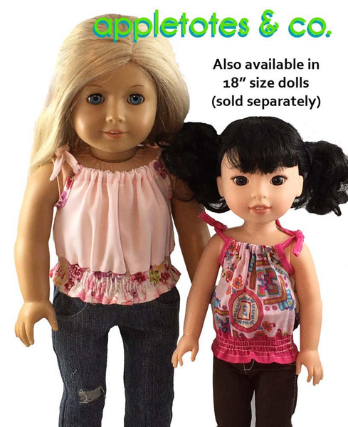 "Tribeca Blouse Sewing Pattern for 14.5"" Dolls"