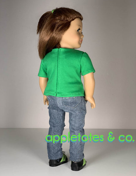 Basic Tee 18 Inch Doll Sewing Pattern