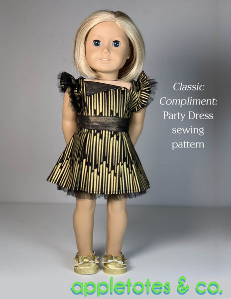 Bella Shoes 18 Inch Doll No Sew Pattern - SVG Files Included